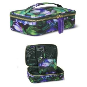 🦋NEW🦋Sonia Kashuk Small Train Case Purple Floral